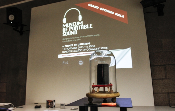 Museum of Portable Sound Grand Opening Gala