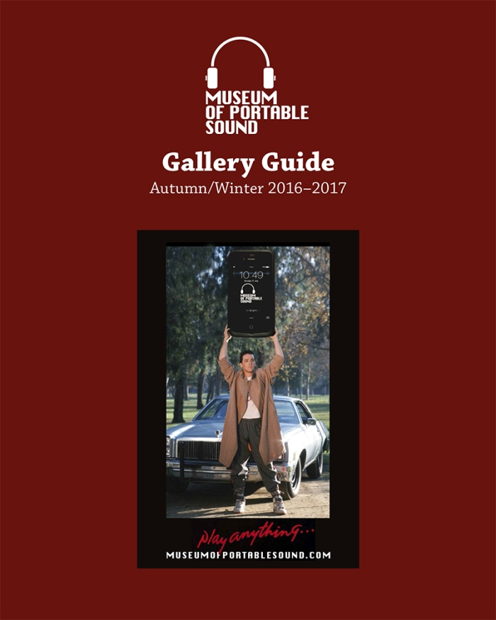 Gallery Guide Autumn/Winter 2016-2017