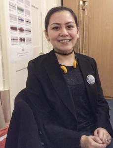Curatorial Assistant Cristina Sousa Martínez