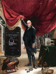 The Artist in Front of His Museum (after Charles Willson Peale, 1822)