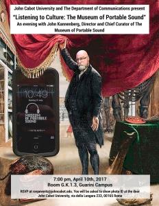 John Kannenberg Public Talk in Rome