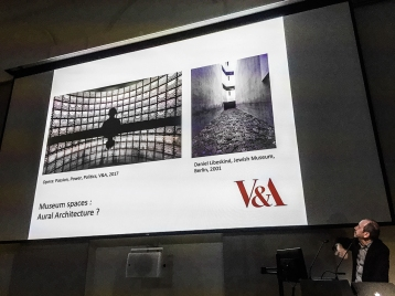 Eric de Visscher introduces the concept of sound & museums.