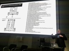 Our Director discussing his Sound Map of the Egyptian Museum, Cairo, from 2010.