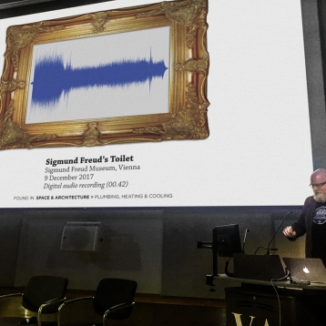 No, our Acquisitions Department did not do anything to alter the appearance of the waveform of their recording of the sound of Sigmund Freud's toilet. That's just how it looks. Get your mind out of the gutter.
