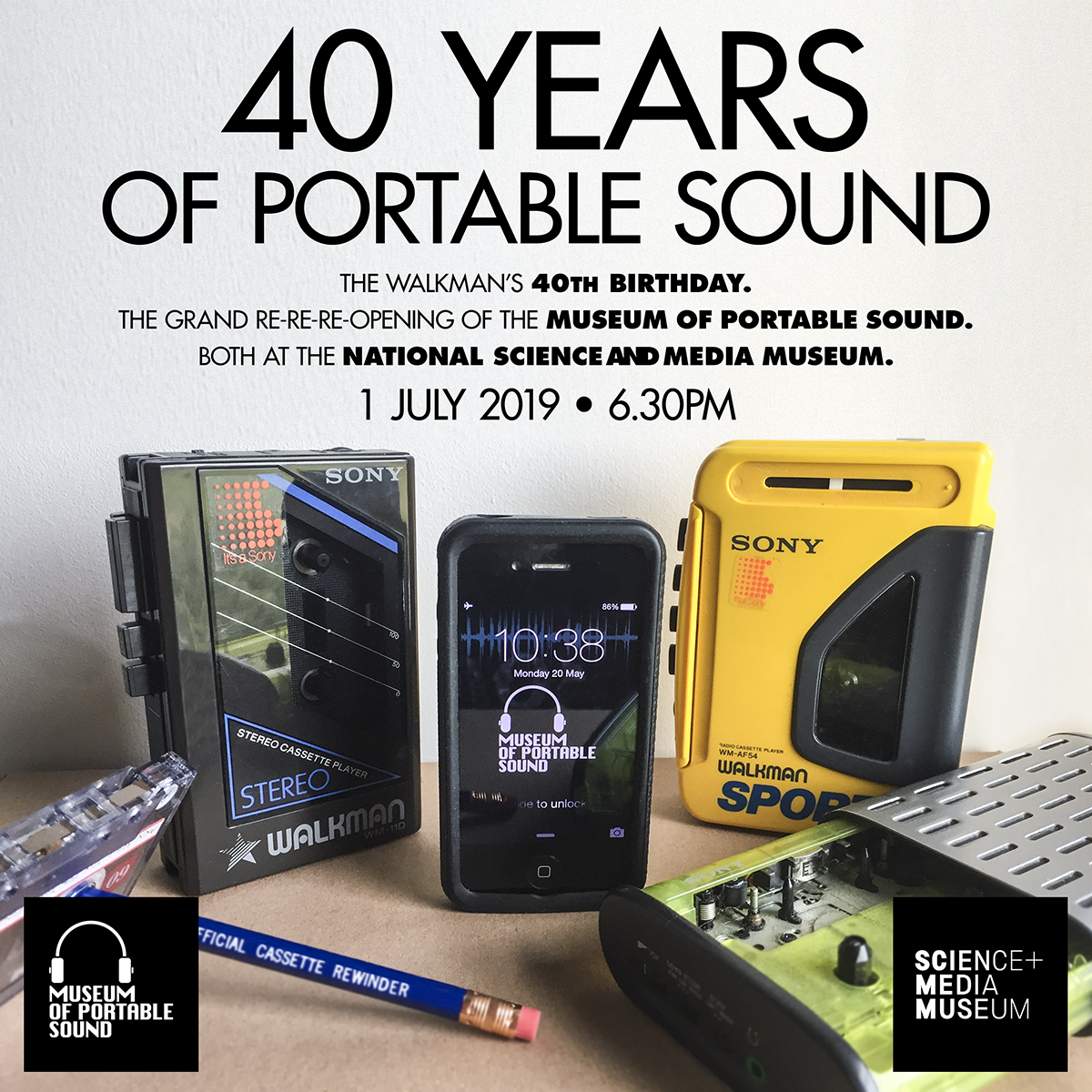 40 Years of Portable Sound
