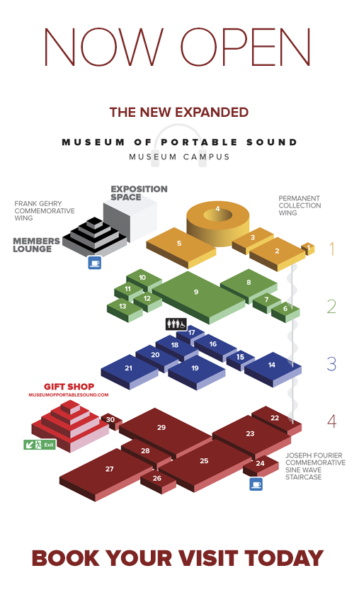 Now Open: The New Expanded Museum of Portable Sound Museum Campus – Book Your Visit Today