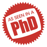 As Seen In A PhD